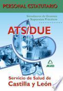 Ats/due Servicio de Salud de Castilla Y Leon. Simulacros de Examen Y Supuestos Practicos. Personal Estatutario Ebook