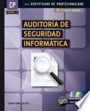 Auditoría de Seguridad Informática (MF0487_3)