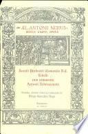 Aurelii prudentii Clementis V.C. libelli