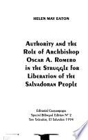 Authority and the Role of Archbishop Oscar A. Romero in the Struggle for Liberation of the Salvadoran People