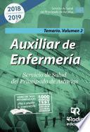 Auxiliar de Enfermería. Servicio de Salud del Principado de Asturias. Temario Volumen 2