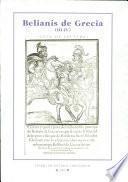 Belianís de Grecia (III-IV) de Jerónimo Fernández (Burgos, Pedro de Santillana, 1579)