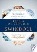 Biblia de Estudio Swindoll Ntv