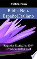 Biblia No.4 Español Italiano