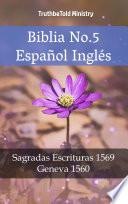 Biblia No.5 Español Inglés