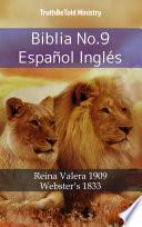 Biblia No.9 Español Inglés