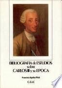 Bibliografía de estudios sobre Carlos III y su época