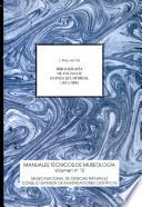 Bibliografía de la Fauna de Guinea Ecuatorial, 1831-2000