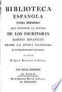 Biblioteca española
