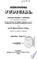 Biblioteca judicial: (1840. X, [3], 231 p.)