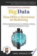 Big Data Para Ceos Y Directores de Marketing