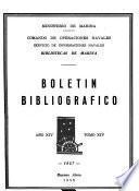 Boletín bibliográfico - Bibliotecas de Marina
