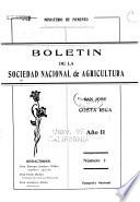 Boletín de agricultura