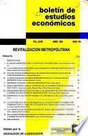 Boletín de estudios economicos