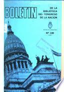Boletín de la Biblioteca del Congreso de la Nación
