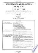 Boletin de la Biblioteca Municipal de Guayaquil