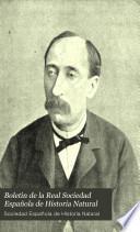 Boletin de la Real Sociedad Española de Historia Natural