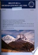 Boletin de la Sociedad Geológica del Perú
