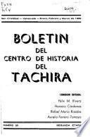 Boletin del Centro de Historia del Táchira