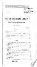 Boletín del ejército