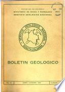 Boletín geológico