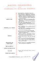 Boletín informativo del seminario de derecho político