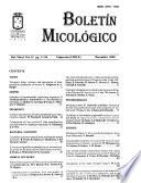 Boletín micológico