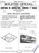 Boletín Oficial de la Propriedad Industrial