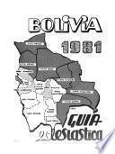 Bolivia: guía eclesiástica