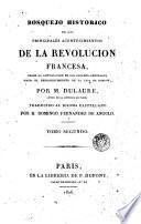 Bosquejo histórico de los principales acontencimientos de la Revolución francesa, 2