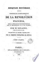Bosquejo histórico de los principales acontencimientos de la Revolución francesa, 4