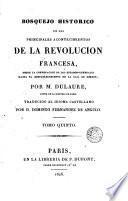 Bosquejo histórico de los principales acontencimientos de la Revolución francesa, 5