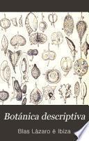 Botánica descriptiva