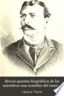Breves apuntes biográficos de los miembros mas notables del ramo de hacienda de la república mexicana
