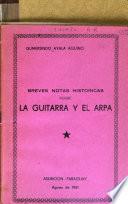 Breves notas históricas sobre la guitarra y el arpa