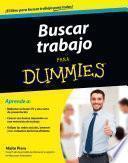 Buscar trabajo para Dummies - BOLSILLO