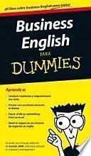 Business English Para Dummines