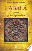 Cabala para principiantes / Kabbalah for Beginners