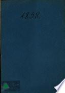 Calendario para el antiguo principado de Cataluña en el año de 1858
