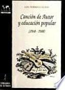 Canción de autor y educación popular (1960-1980)