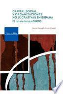 Capital social y organizaciones no lucrativas en España