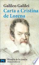 Carta a Cristina de Lorena y otros textos sobre ciencia y religión