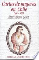 Cartas de mujeres en Chile, 1630-1885