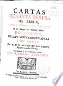 Cartas de Santa Teresa de Jesús ...