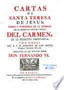 Cartas de Santa Teresa de Jesus