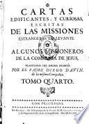 Cartas edificantes y curiosas escritas de las missiones estrangeras de Levante