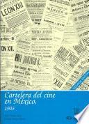 Cartelera del cine en México: 1903