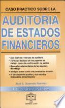 Casos Prác. s/ Auditoria Estados Financieros