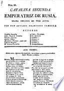 Catalina Segunda, Emperatriz de Rusia