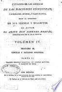 Catálogo de las lenguas de las naciones conocidas: Lenguas y naciones europeas
